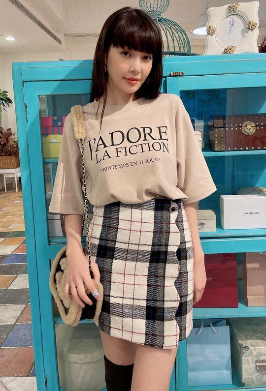 甜蜜時刻褲裙 201205{現貨}